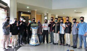 UNP ciptakan robot anti corona