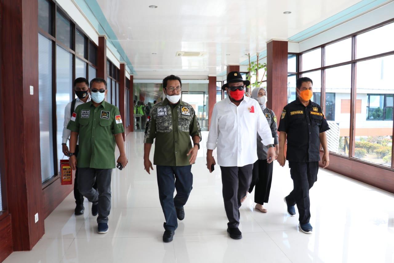 Ketua DPD RI AA LaNyalla Mahmud Mattalitti dalam kunjungan daerah, baru-baru ini. [Foto: Dok. DPD RI]