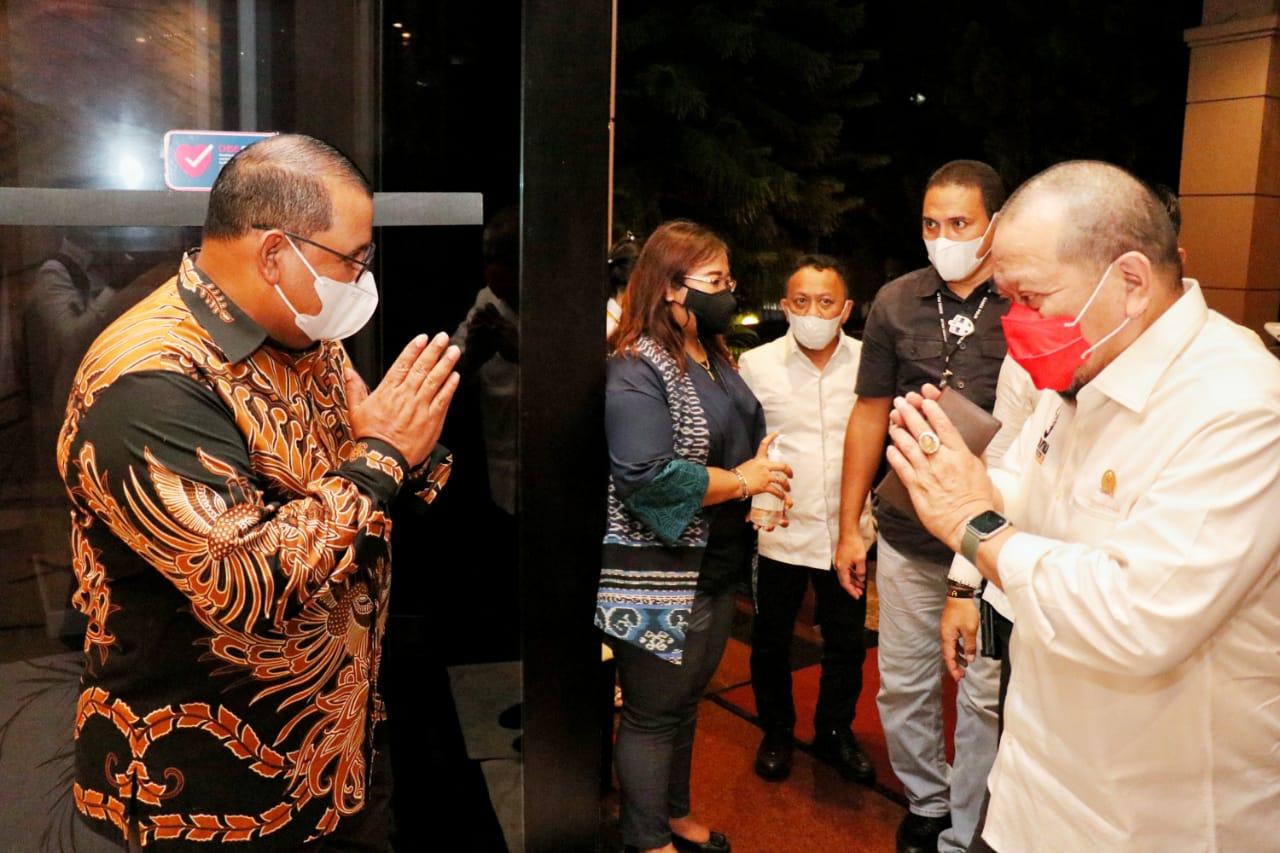 Ketua DPD RI AA LaNyalla Mahmud Mattalitti dalam sebuah kunjungan kerja, baru-baru ini. [Foto: Dok. DPD RI]