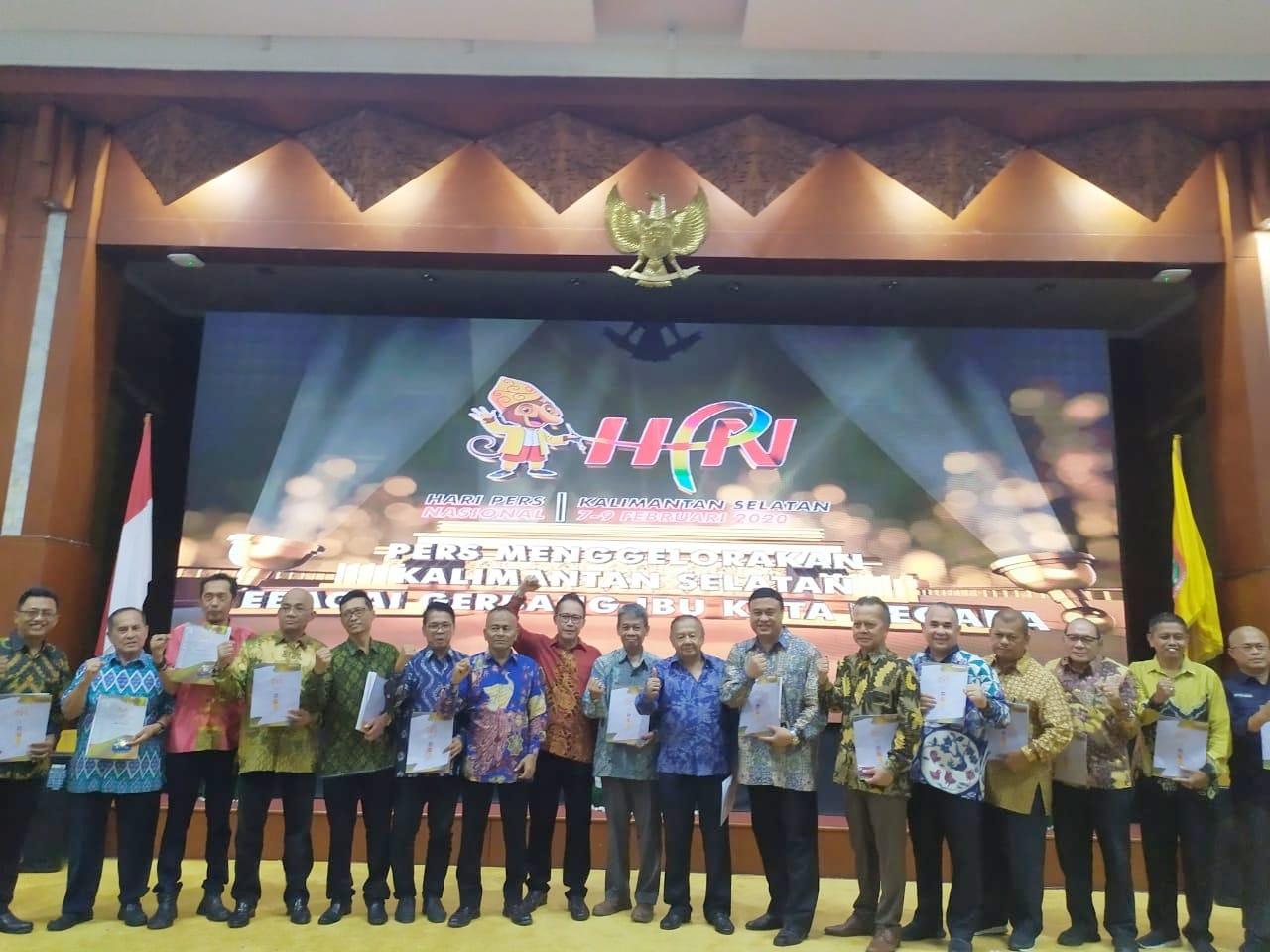 Salah satu event perayaan HPN di Kalimantan Selatan, baru-baru ini. [Foto: Dok. PWI]