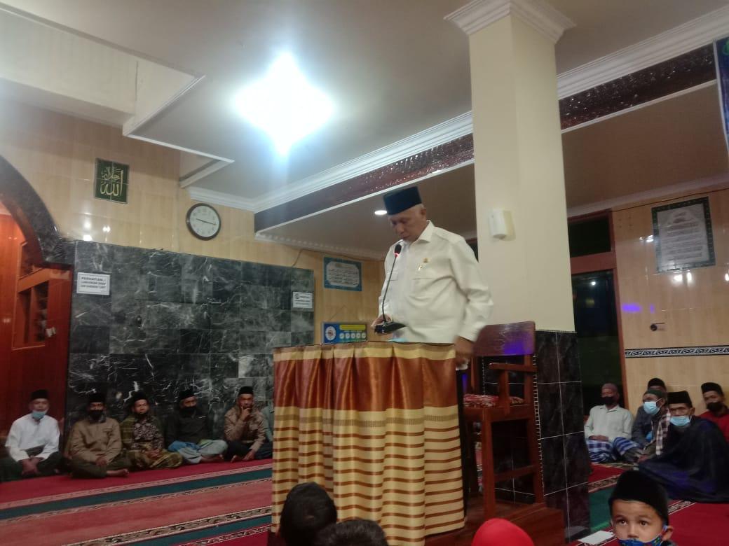 Gubernur Sumatera Barat, Mahyeldi menilai rumah tahfidz dapat melahirkan generasi muda penghafal Al-Qur'an. [foto : ist]