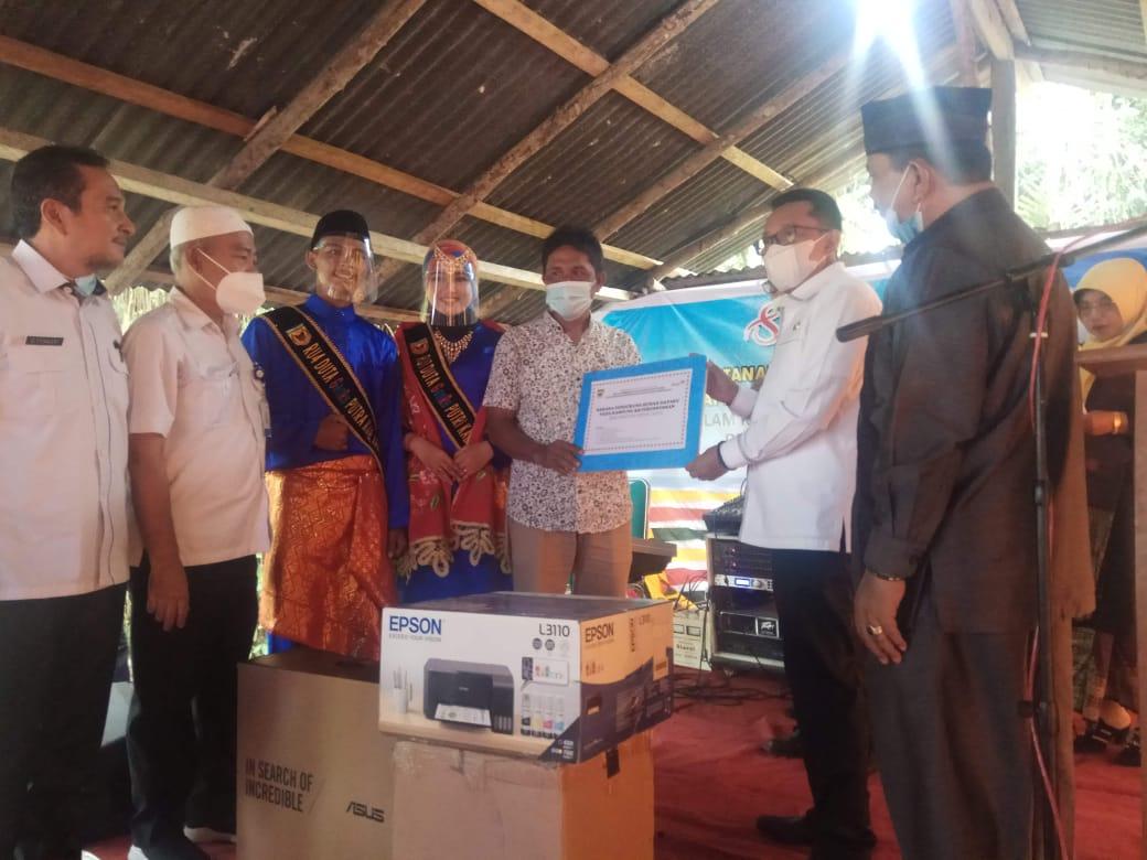 Nagari Pangian Swadaya Bangun Rumah Data