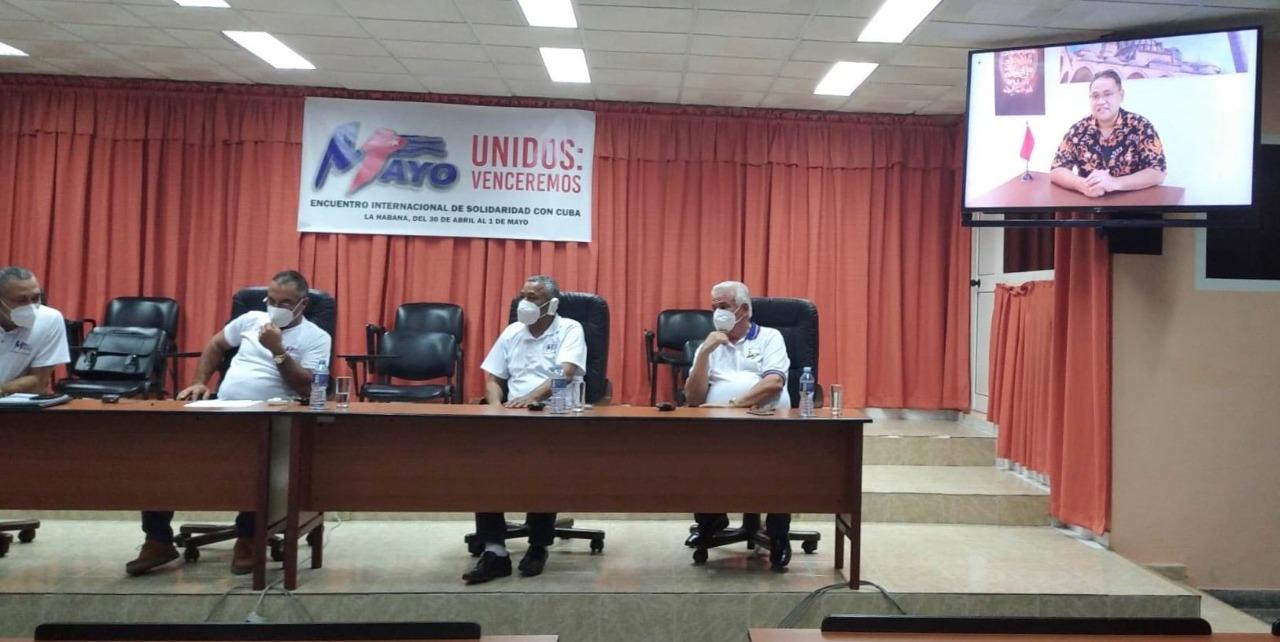 Momen May Day, Forum Solidaritas untuk Mengakhiri Blokade Kuba